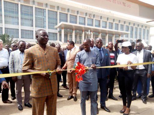 IMG 20200121 WA0091 493x370 - Ouverture de la 12 ème foire agricole en prélude au Forum National du Paysan Togolais