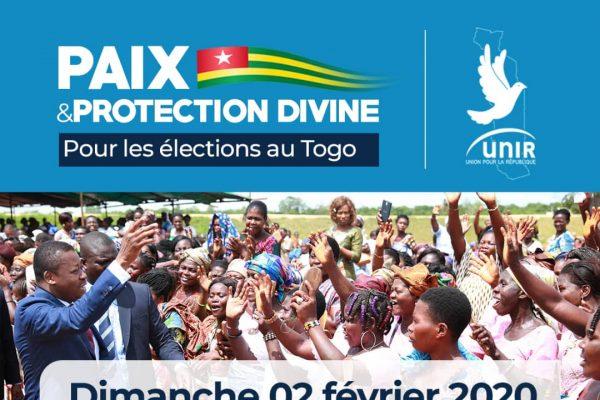 IMG 20200131 WA0092 600x400 - Élections présidentielles : UNIR veut implorer la grâce divine sur son candidat et pour un scrutin apaisé