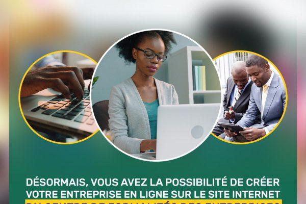 Création dentreprise en ligne 600x400 - Togo/ Créer son entreprise en un clic possible depuis 2019