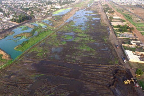 4ème Lac 600x400 - PAUT 2: des quartiers de la périphérie Est de Lomé sauvés des eaux!
