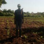 Paysan Togoville 150x150 - Pluie ce lundi: le soulagement des paysans