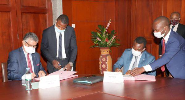Protocole accord BOA CNP et gouv. 600x326 - Forum économique Togo-UE: la BOA va financer des projets sélectionnés