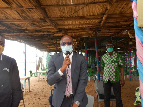 sensib pêcheurs 3 494x370 - Togo: des acteurs de la pêche artisanale sensibilisés sur les mesures de sécurité en mer
