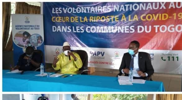 ANVT COVID - L'ANVT au cœur de la lutte contre la Covid-19 : près de 2 millions de Togolais sensibilisés par les VEC
