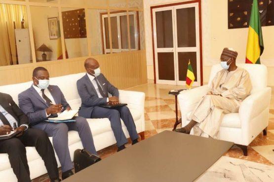 Dussey au Mali 555x370 - Togo: DUSSEY au Mali avec un message de Faure GNASSINGBE en poche