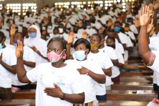Volontaires competence 16e vague 555x370 - Togo: 1400 volontaires de compétence de la 16è vague renvoyés à leur mission