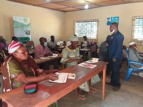 formation exploitants ouvrages marchands savanes PSMICO 493x370 - Togo/ PSMICO-Savanes: la bonne gestion des ouvrages marchands au cœur de sessions de formation