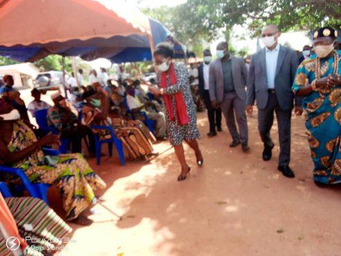 IMG 20201215 WA0011 493x370 - Togo/ Vo: Hédjegan, Sévagan , Ekpui et Wogba accueillent Victoire Tomégah-Dogbé