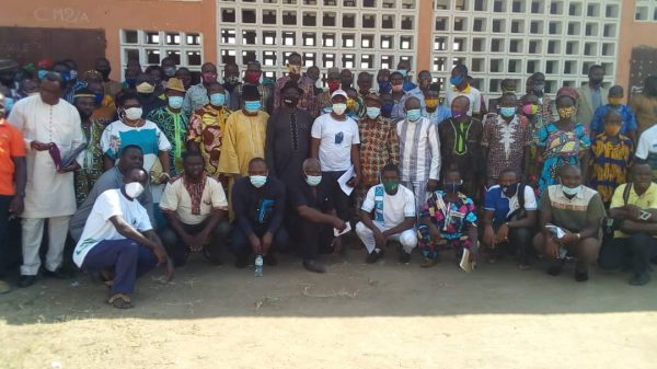 Rencontre cadres Kpedome 600x337 - Togo/ Haho3: le maire ADAÏSSO Kossi pour une gestion participative