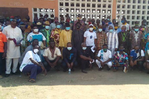 Rencontre cadres Kpedome 600x400 - Togo/ Haho3: le maire ADAÏSSO Kossi pour une gestion participative