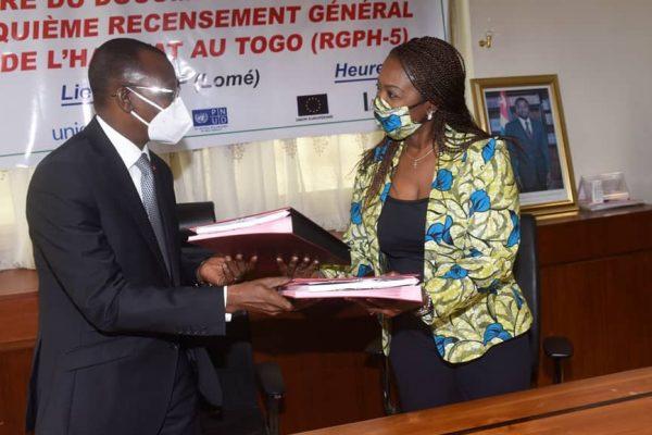 signature projet RGPH5 600x400 - Le Togo prépare son 5è recensement général de la population et de l'habitat