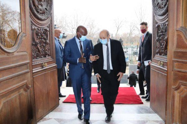 IMG 20210129 WA0030 600x400 - Togo/ Diplomatie : Dussey reçu au Quai d'Orsay