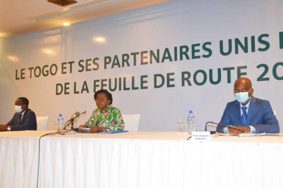 presentation feuille de route 2 556x370 - Togo: le gouvernement Tomégah-Dogbé présente aux partenaires sa feuille de route 2020-2025