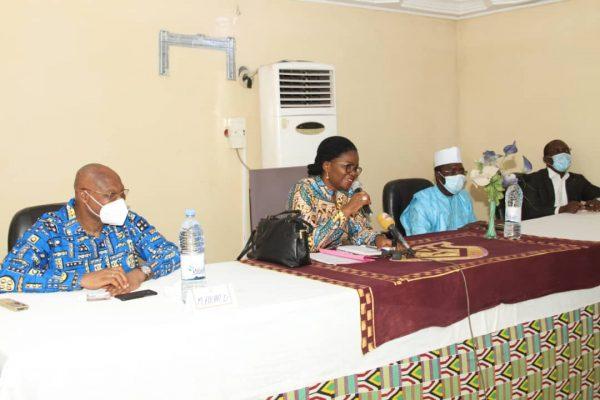 Rencontre femmes sokode 600x400 - Togo: A Sokodé, Victoire Tomégah-Dogbé salue la bravoure des femmes entreprenantes