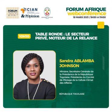 Forum Afrique 370x370 - Forum Afrique du CIAN 2021: c'est ce jeudi 18 mars en visioconférence