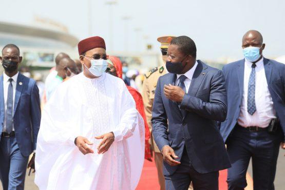 Mahamadou Issifou au Togo 555x370 - Togo: Mahamadou Issifou en visite à Lomé