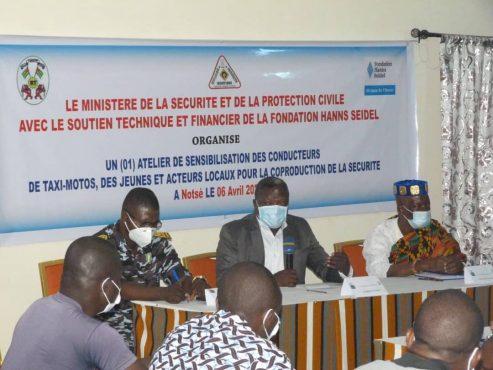 formation code route Notse 493x370 - Togo: le ministère de la sécurité en guerre contre les accidents de la route à Notsè