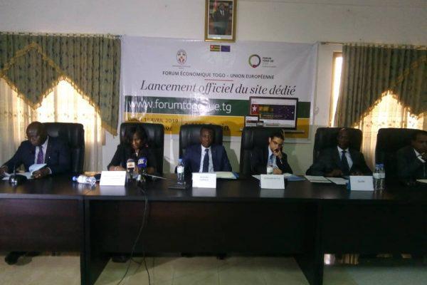 Lancement du site web dédidé au forum économique Togo-UE