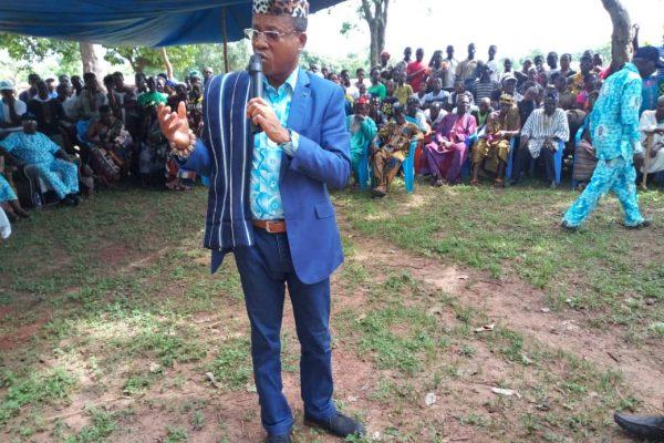 Le ministre Kossivi Egbétonyo à Kamina