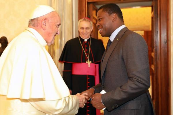 Pape François- Faure Gnassingbé