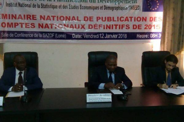 Publication des comptes nationaux 2015