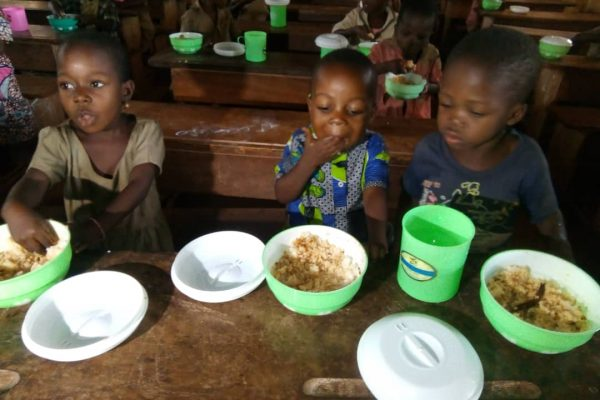 cantines scolaires Gboto-Klohomé