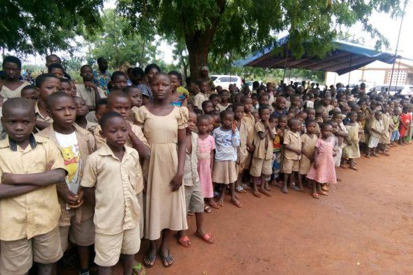 journée alimentation scolaire à Gboto-Klohomé